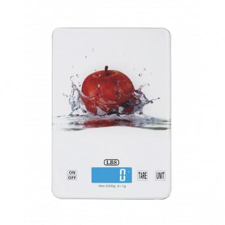 Balance de cuisine tutti frutti pomme rouge Balance de cuisine rouge